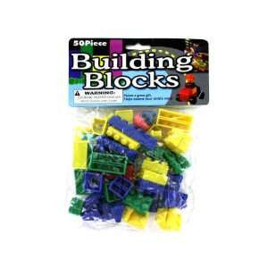 TOYS & CRAFTS, Indoor Toys/Games - *BUILDING BLOCKS SET- 50 PIECES