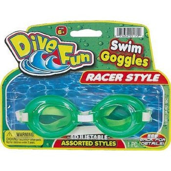 TOYS & CRAFTS, Indoor Toys/Games - *DIVE FUN SWIM GOGGLES RACER STYLE