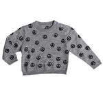PEACE AOP KNIT SWEATER