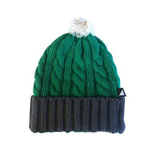 MOSH PIT KNITTED BEANIE EMERALD