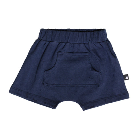 INDIGO POCKET SHORTS