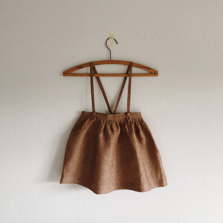 sierra suspender skirt [ multiple color selections ]
