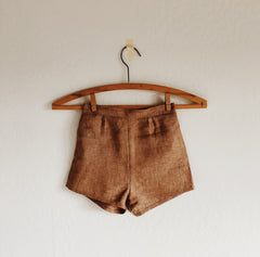 harriet high waisted shorts [ multiple color selections ]