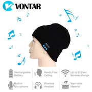 VONTAR MK-1 MK-2 Wireless Bluetooth headphones Music hat Smart Caps Headset earphone - Those Groovy Pets