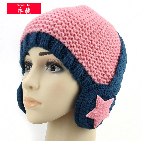 Knitted beanie hat headphones,headphones winter hats - Those Groovy Pets