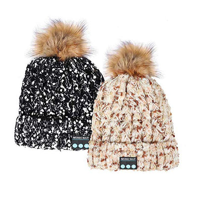 Winter Hat Earmuffs Audible Music Phone Calls Knit Hats for Men and Women Bluetooth Hat - Those Groovy Pets