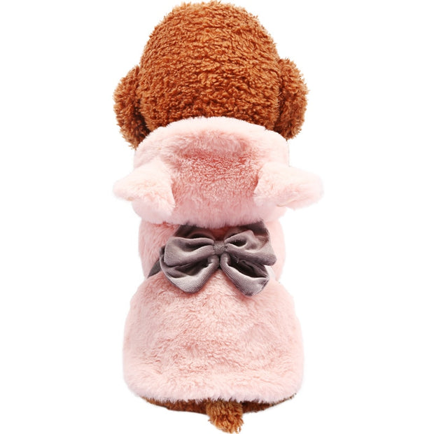 PETCIRCLE Dog Clothes Winter-Autumn Teddy Puppy Dog Bulldog Chihuahua Autumn Cat Clothes Pet Little Bear Lady Clothes - Those Groovy Pets