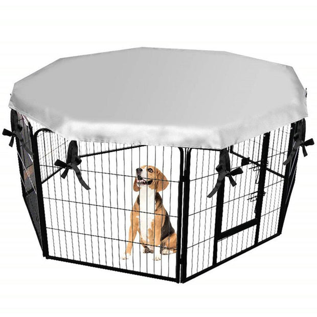 Dog Kennel House Cover Waterproof Dust-proof Durable Oxford Dog Cage Cover Foldable Washable Outdoor Pet Kennel Crate Cover - Those Groovy Pets
