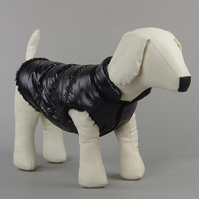 2019-newest-small-dog-pet-winter-padded-coat-warm-fleece-down-jacket-puppy-warm-cat-vest-clothes - Those Groovy Pets