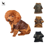 tailup-winter-warm-pet-clothes-soft-pu-leather-coat-for-small-yorkie-dogs-windproof-puppy-chihuahua-fur-jackets - Those Groovy Pets