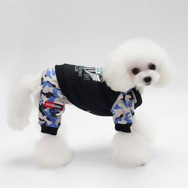 Pet Dog Clothes Coat Winter Warm Outerwear Thicken Dog Clothing Wadded Jacket Fashion Pet Cat Products Clothes For Dog Puppy Cat - Those Groovy Pets