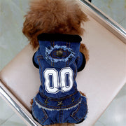 autumn-winter-pet-dog-jeans-hooded-denim-clothing-jumpsuit-overalls-dog-clothes-thickening-four-legs-pet-jacket-coat - Those Groovy Pets