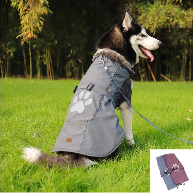 new-pet-dog-clothes-big-large-dog-winter-warm-jacket-coat-soft-warm-fleece-vest-apparel-dog-clothing-ropa-para-perros - Those Groovy Pets
