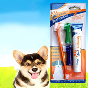 4pcs Dog Care Set Pet Toothbrush For Cats Dog Toothpaste For Pets Oral Cleaning Products Dog Tooth Cleaning Toothbrush Brushes - Those Groovy Pets