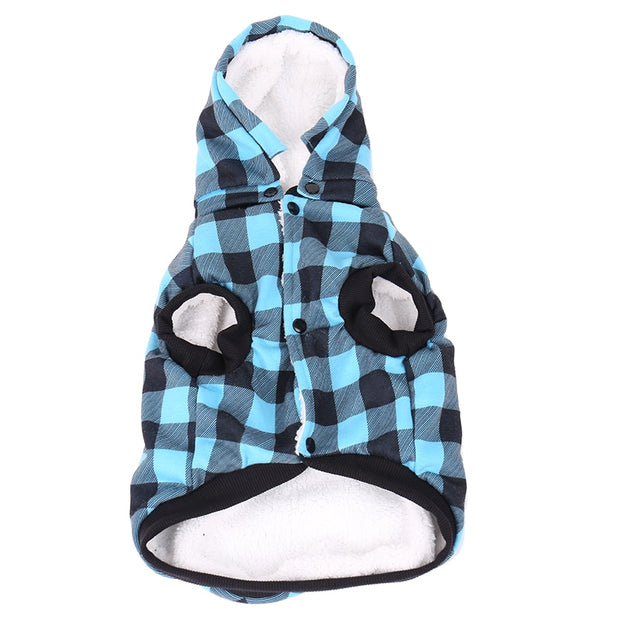 Free Shipping Large Size Pet Dog Coat Winter Warm Dog Clothes For Chihuahua Soft  Hood Puppy Jacket Clothing With Detach Hat - Those Groovy Pets
