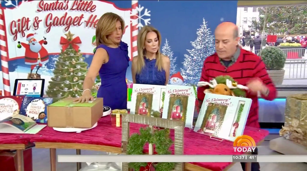No Chimney? No Problem! Book & Santa Key Gift Set Featured on the TODAY Show