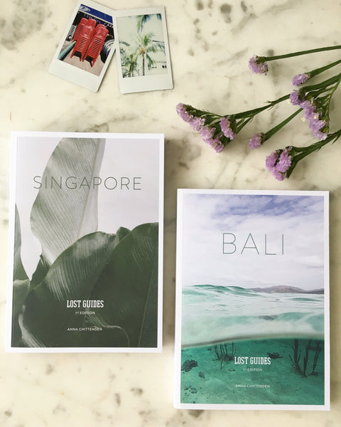 Singapore + Bali book bundle (save $5) - Printed