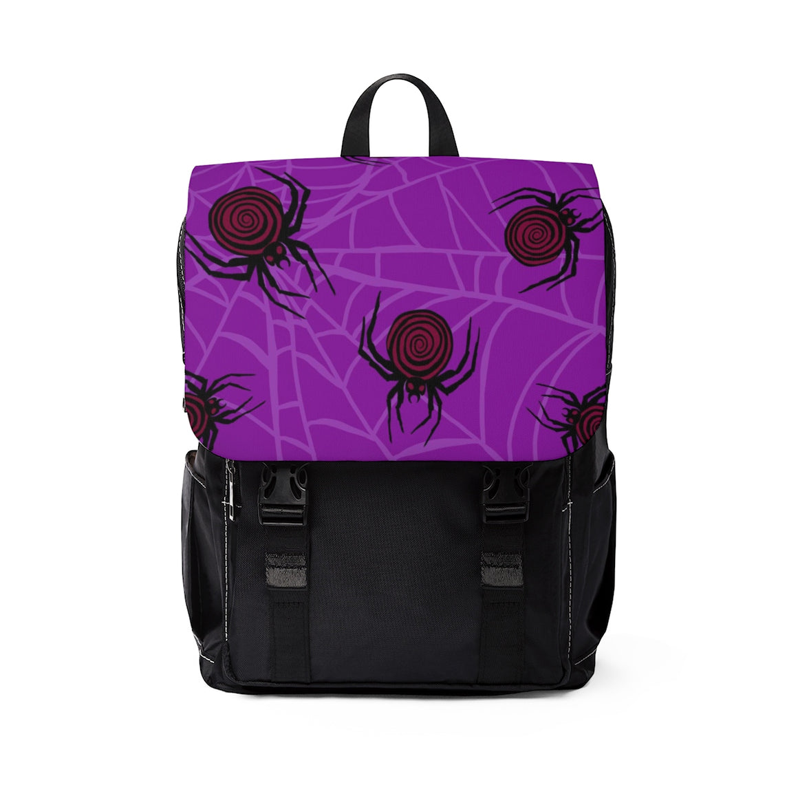Spiderweb Casual Shoulder Backpack