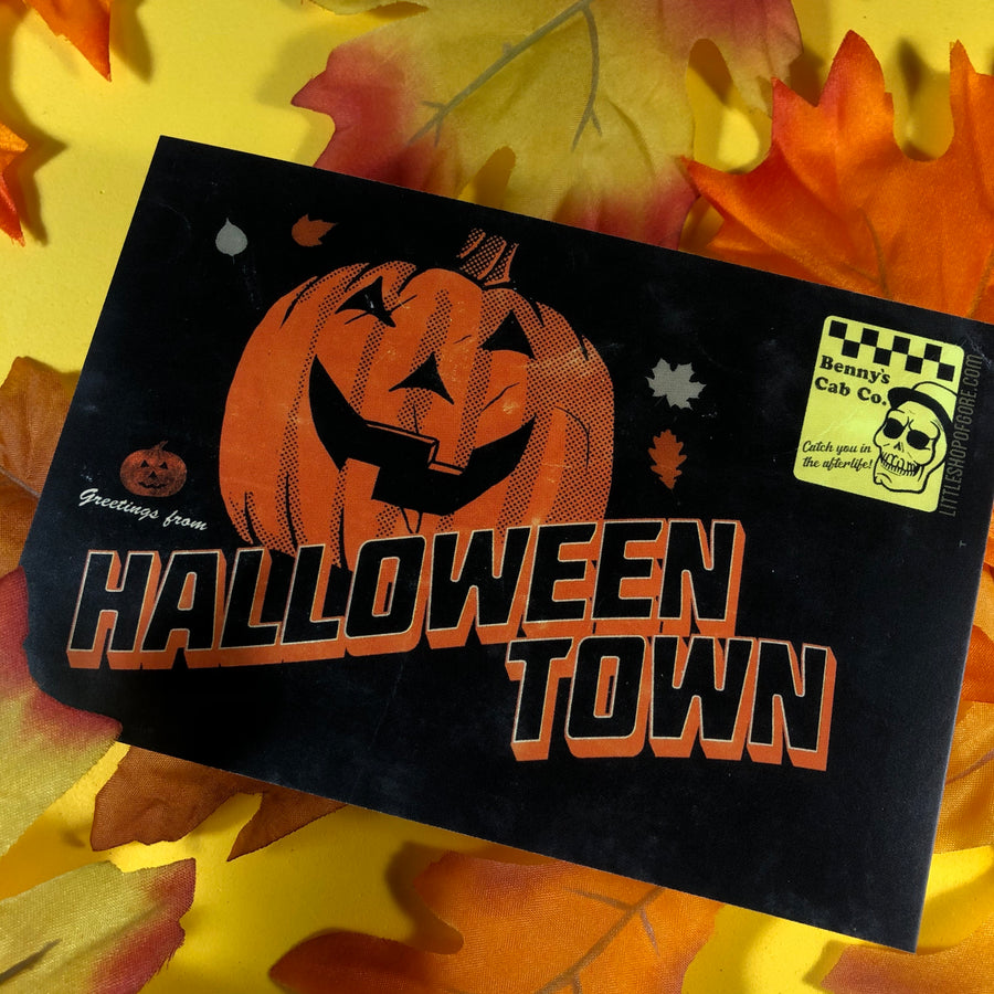 Halloweentown Postcard Print