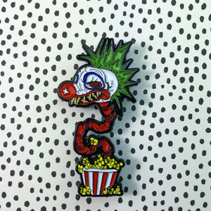 Popcorn Klown-Enamel Pin