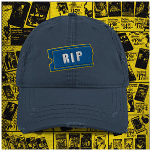 RIP Distressed Dad Hat