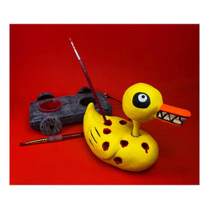 Nightmare Duck Brush Holder