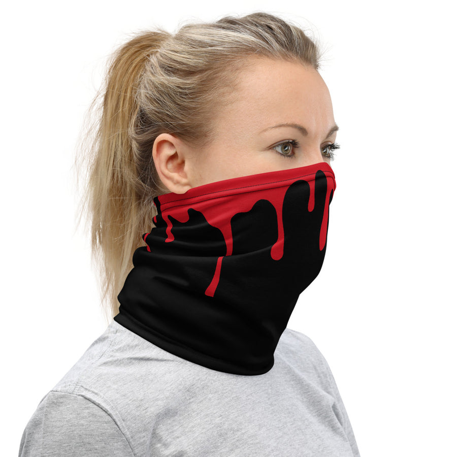 Blood Red Neck Gaiter