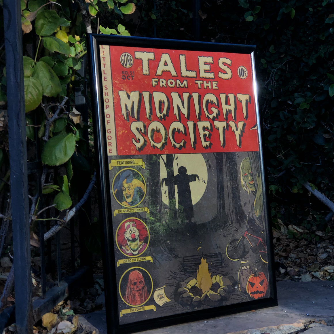 "Tales From The Midnight Society 18x24"" Print"