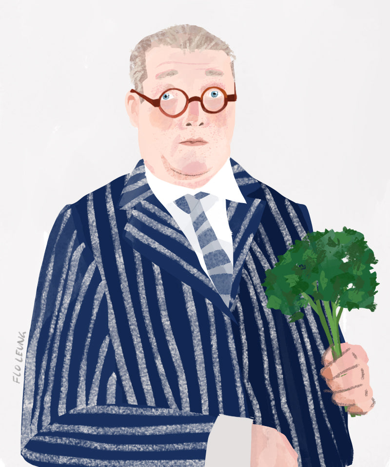 Of Note: Fergus Henderson, on the Virtues of Curly Parsley