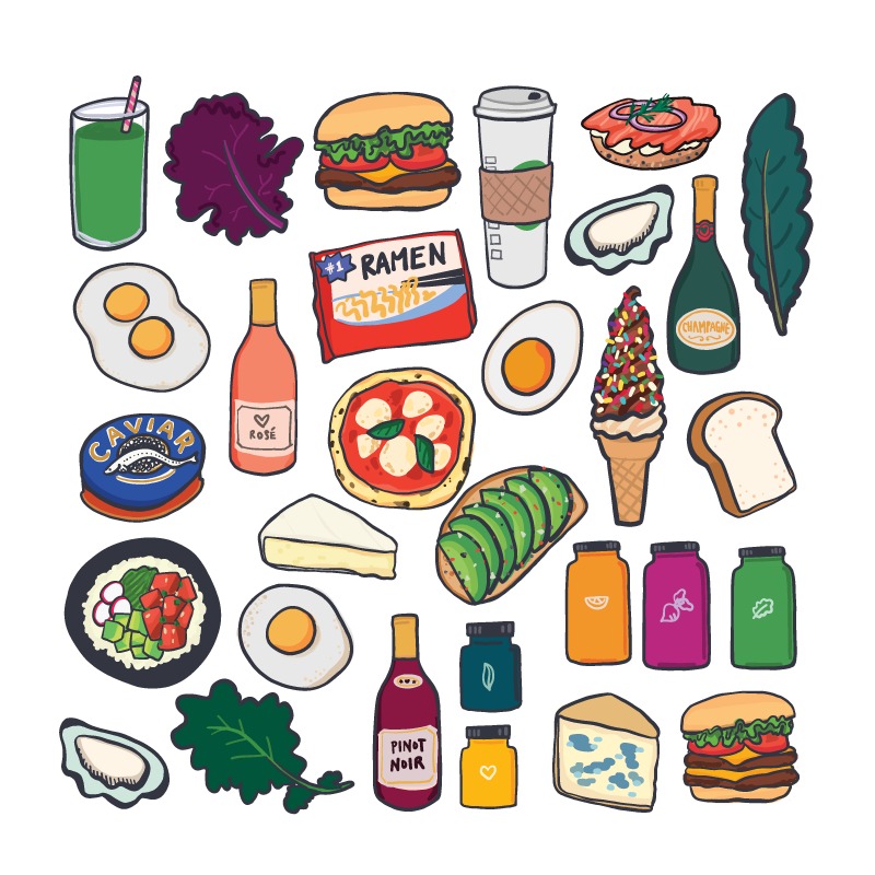Foodlife Stickers for Apple iMessage
