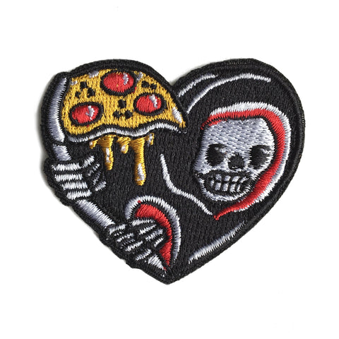 Grim Reaper Pizza Patch