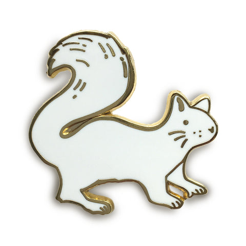 White Squirrel Pin