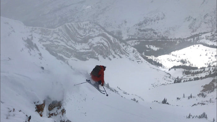 "Skiing Box Elder Peak NW ""Super Couloir"""