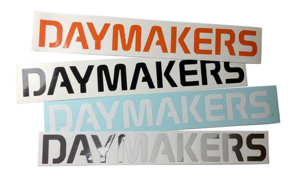 DAYMAKERS DIE CUT STICKER