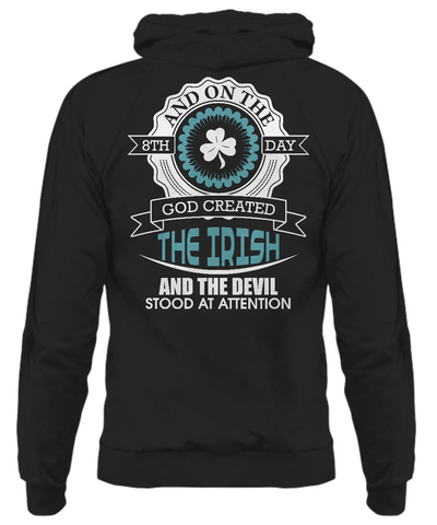God Created The Irish - Hoodie