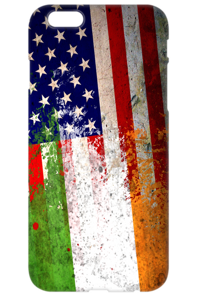 Irish American Flags - Phone Case