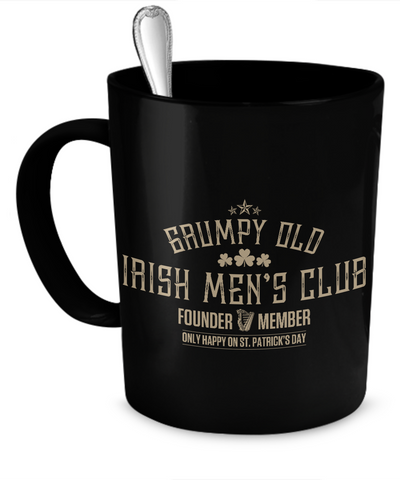 Grumpy Old Irish Mens Club - Coffee Mug