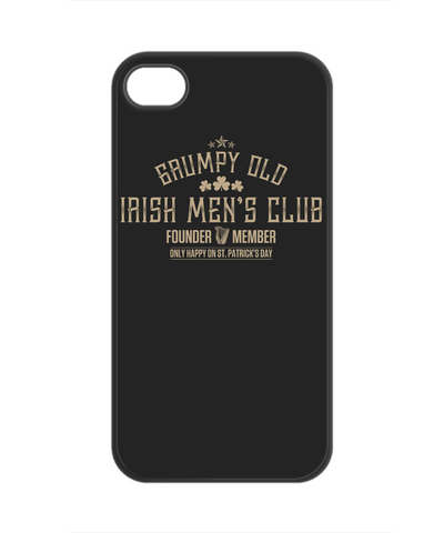 Grumpy Old Irish Mens Club - Phone Case