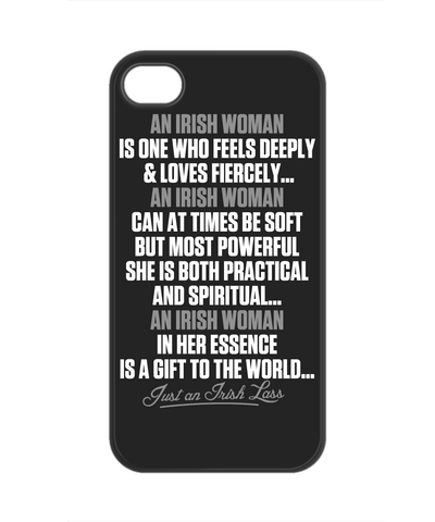 An Irish Woman - Phone Case