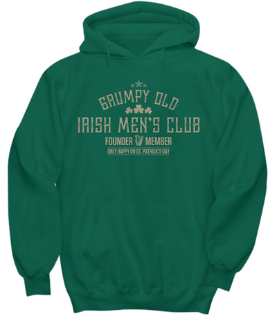 Grumpy Old Irish Mens Club - Hoodie