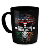 American Grown Irish Roots - Coffee Mugs