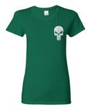 Irish American Skull - T-Shirt