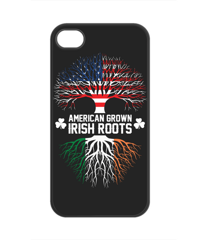 American Grown Irish Roots - Phone Case