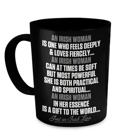 An Irish Woman - Coffee Mug