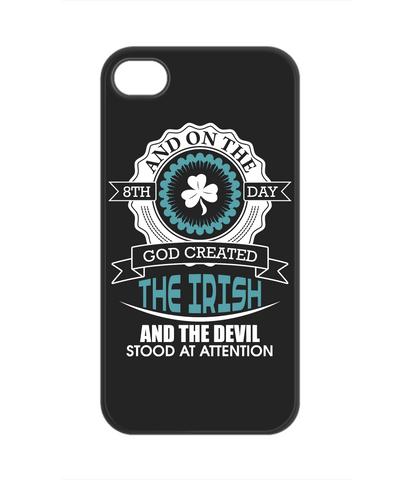 God Created The Irish - Phone Case