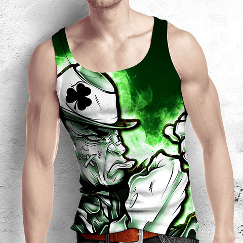 Fighting Irish All Over Print Tank Top