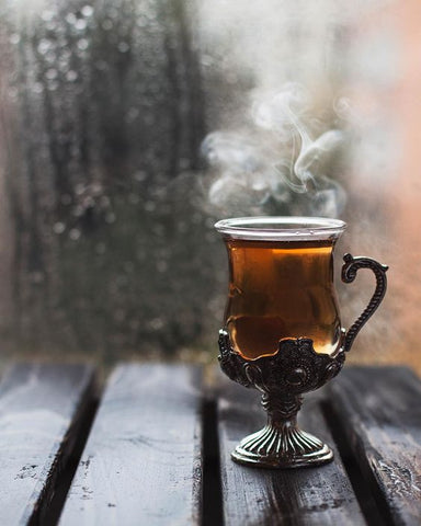 hot tea mug cup warm herbal from daria kalugina on instagram via baltic born