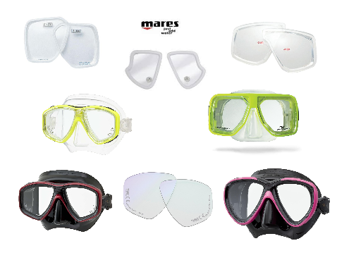 Masks with Optical Correction Lenses