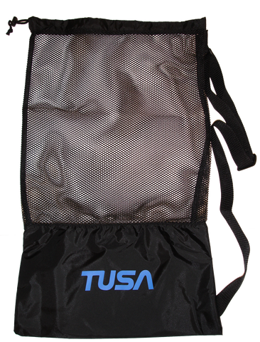 Drawstring Mesh Bag by TUSA