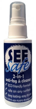 See Safe 2 In 1 Antifog And Cleaner 60ml